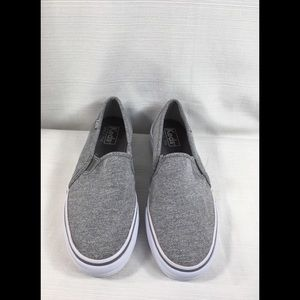 Gray Slip On Keds